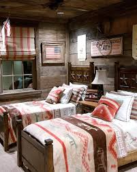 Log Cabin Area Rugs by Lodge Bedroom Ideas Pink Wooden Side Table Three Frame Above