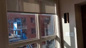 lutron remote control shades in boston ma youtube
