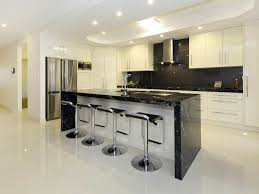 Home Bar Interior Design Glossy Tiles Floor Of Modern Home Bar Design Idea Using Neutral
