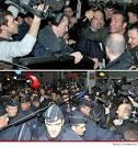 The Artist' Oscar Winner Jean Dujardin -- The Homecoming Mob Scene ...