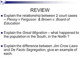 Plessy v  Ferguson   law case   Britannica com Plessy v Ferguson Primary Source Analysis Activity In the Supreme Court s  decision in Plessy v
