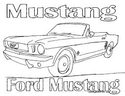 Old Ford Truck Coloring Pages - printable mustang coloring pages me mustang gt 350 coloring page