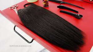 Human Hair Glue In Extensions by Quick Weave Glue In Extensions Hairstyle For Black Women Hair