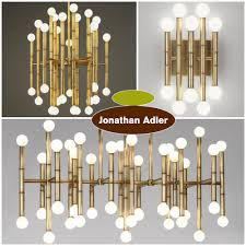 Jonathan Adler Home Decor by Jonathan Adler Ventana Threetier Nickel Chandelier Overstock