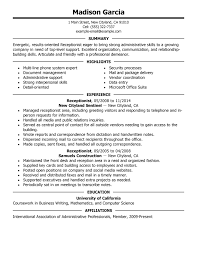 With Goodlooking Resume For Medical Receptionist Besides What Should I Name My Resume Furthermore Customer Service Job Description Resume With Archaic
