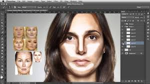 contour shaping photoshop makeup tutorial youtube