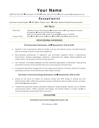 Customer Service Resume Skills 100 Resume Samples In Customer Service Cover Letter About