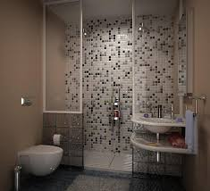 bathroom small bathroom design with modern toilet and nemo tile wall