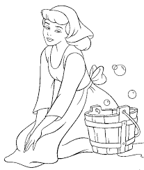 free printable cinderella coloring pages for kid coloring home