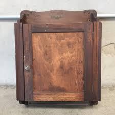 fancy antique wooden medicine cabinet 78 on pegasus mirrored