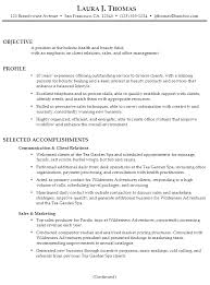Profile Section Of Resume Examples by Resume For Client Relations And Sales Susan Ireland Resumes