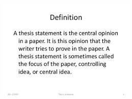 thesis thesaurus FAMU Online