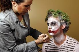 Halloween Makeup Application by Joker Makeup A How To For Halloween Toronto Star