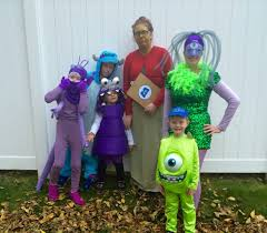 Cookie Monster Halloween Costumes by Monsters Inc Group Halloween Costumes Pinterest Monsters