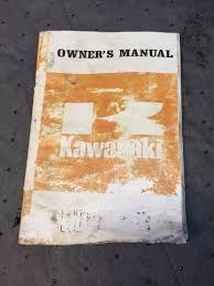 kawasaki z1 owners manual kz900 u2022 19 95 picclick