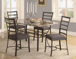 faux marble dining table sku cm3933t casual set brown wood