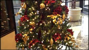 decorate a christmas tree professionally youtube