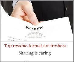 Jobs Freshers Resume Layout by Top 5 Resume Format For Freshers Free Download Freshers 360