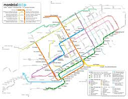 Canada Rail Map by Catbus Map