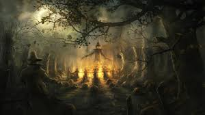 free halloween wallpaper download free scary halloween wallpapers wallpaper cave
