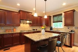 Elegant Kitchen Cabinets Kitchen Enchanting Kitchen Decoration With Light Brown Wood