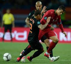 Pertandingan Grup B Portugal vs Belanda Euro 2012