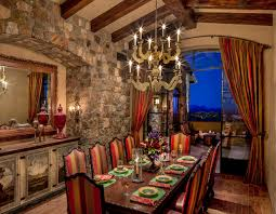 Arizona Tuscan Southwestern Dining Room Phoenix By Urban - Tuscan dining room