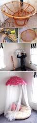 Papasan Chair In Living Room Papasan Chair Turned Into A U0027papasan Canopy U0027 Over Little Girls U0027 Bed