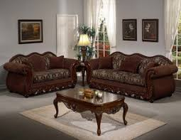 Sofa With Wood Trim by Trujillos Furniture Sofa And Loveseat Palace Solid Wood Trim