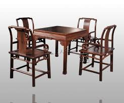 Dining Living Room Furniture Set  Table   Chair Rosewood China - Solid oak living room furniture sets