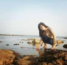 latest pictures of french beach point near hawksbay karachi