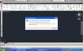 license borrowing error autodesk community