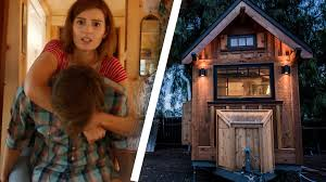Tiny House Hotel Near Me People Try Living In A Tiny House Youtube