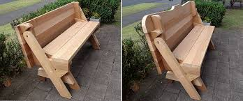 Plans To Build A Picnic Table Bench by Folding Picnic Table Diy Out Of 2x4 Lumber Introduction And