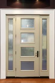 decoration simple and chic entry doors with white scheme and