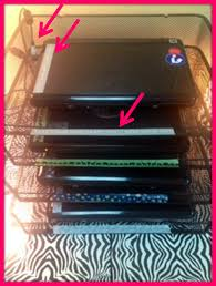 monday made it laptop charging station classroom diy