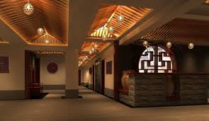 Modern Chinese Restaurant Interior Design Idea CHINESE DESIGN - Interior design chinese style