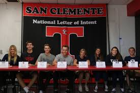 M A student athletes participate in National Letter of Intent     USA Today High School Sports