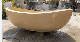 Stone Baths Cheapest Beige Bathtubs Bathroom Sinks Nano Glass Stone Bathtubs