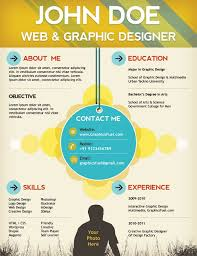 images about Photoshop Resume Templates on Pinterest