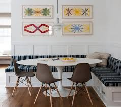 Dining Room Wall Decor Dining Room Dining Banquette For Modern Dining Room Decorating