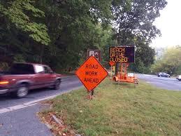 Washington Traffic Map by Dreaded Closures Begin On Beach Drive Wtop