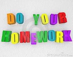Do Your Homework   Colorful Magnets Royalty Free Stock Photo     Do Your Homework   Colorful Magnets