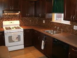Kitchen Color Ideas With Cherry Cabinets White Metal Double Door Refrigerator Kitchen With Cherry Cabinets