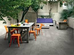 outdoor floor tiles with concrete effect archiproducts