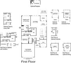 Castle Floor Plan by Castle Rock New Home Plan Howell Twp Nj Centex Home Builders