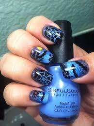 halloween nail ombre gradient sponge art nail art gallery