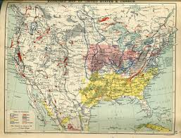 Color Coded Map Of Usa by Economic Map Of United States And Canada Of 1910 Map Usa Canada