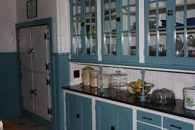 furniture awesome design ideas 1930s kitchen cabinets blue
