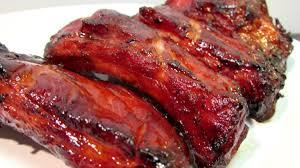 how to make chinese bbq pork ribs char siu chinese food recipe